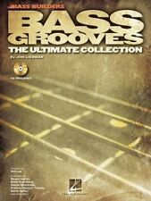 Bass Grooves The Ultimate Collection Tab Book Cd NEW!