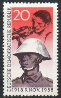 East Germany 1958 (DDR) November Revolution 40th Ann. 20 Pfg Superb MINT Stamp