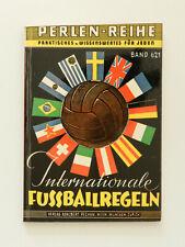 Internationale Fußballregeln Perlen Reihe Band 621 Leo Zakl 1963