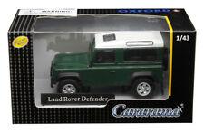 LAND ROVER DEFENDER DARK GREEN 1/43 DIECAST MODEL CAR BY CARARAMA 4-55260