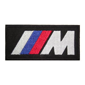 M Performance MotorCar Brand Logo Patch Iron On Patch Sew On Embroidered Patch