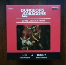 D&D - Dungeons and Dragons: BDS - Uni & Bobby The Barbarian Statue Iron Studios