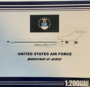 Jet-X 1/200 USAF727A C-22C (B727-212/Adv) USAF acft no. 83-4618
