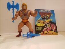 He-man heman motu 1982 W Weapons, Vest, Comic Mexico