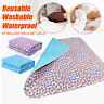 Washable Underpads Bed Reusable Pad Waterproof Incontinence For Hospital Home AU