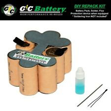 Porter Cable 12 Volt 8623 Battery DIY REPACK KIT | Tenergy 2.2Ah NiCd