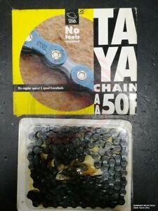 "Bike Chain 5 Speed ' MTB Taya 1/2 "" X 3/32 116L Black Old-Time Vintage"