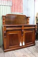 A Large Victorian Mahogany Chiffonier Sideboard