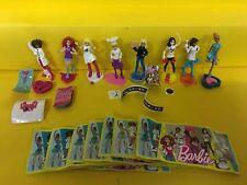 Komplettsatz Barbie Traumberufe aus England EN378 -  EN430A mit allen  BPZ