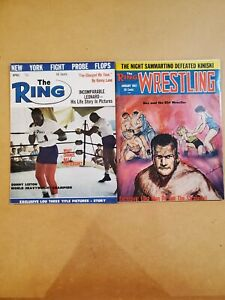 Ring Wrestling Magazines  - 1963 & 1967 -  Near Mint