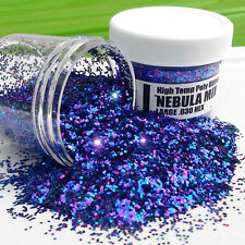 NEW 2 OZ NEBULA MIX Hi-Temp Glitter .030 Hex Fishing Lure Making plastisol