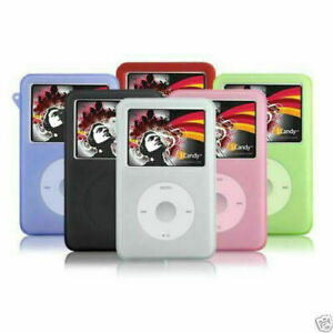 NEWSilicone Rubber Skin Soft Case Cover for iPod Classic Video 80/160GB Thin