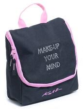 Girls Ladies Black And Pink Dance Ballet Tap Make Up Cosmetic Bag KB70 By Katz