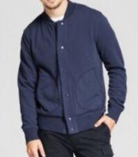 Goodfellow & Co. Men Blue Button Down Long-Sleeve Jacket Size XL