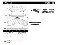 Disc Brake Pad Set-P4T042 Rear,Front Centric 102.07170