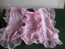 DRAPS DE LIT PAR 3    ROSE          CART 25