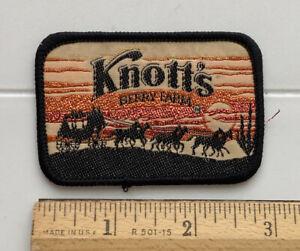 Knott's Berry Farm California Western Stagecoach Horses Souvenir Patch Badge