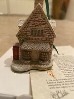 Lilliput Lane Christmas Ornaments-  Ivy House