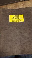 Rosco Flaherty Chip Spreader Maintenance Manual