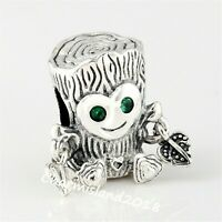 Authentic Pandora Charm 798260 Silver 925 ALE Sweet Tree Monster Bead