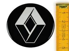 RENAULT ★ 4 Stück ★ SILIKON Ø50mm Aufkleber Emblem Felgenaufkleber Radkappen