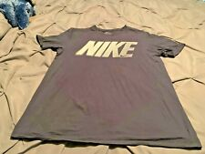 Nike Men's Blue & White Short Sleeve Shirt. Size Medium  FREE SHIPPING!!!!
