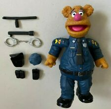 Palisades Muppet Show FOZZIE as PATROL BEAR Figure Used With Accessories Muppets