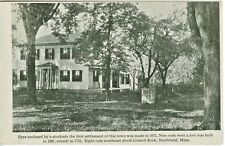 Northfield MA Here the First Town Settlement was Made 1925
