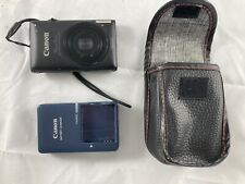 Canon PowerShot ELPH 300 HS / IXUS 220 HS 12.1MP Digital Camera - Black Tested