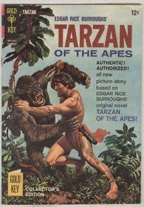 Tarzan of the Apes #155 December 1965 VG Origin