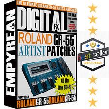 Roland GR-55 ARTIST Patches Guitar Effects Artist Presets Settings Windows Mac