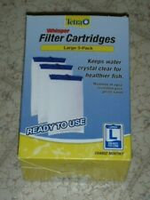 3 Tetra Whisper Filter Cartridges L LARGE for External & In-Tank Power Filters