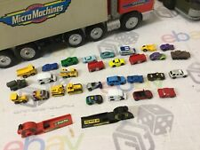 Job Lot Bundle Vintage Micro Machines Playset Vehicles Galoob Vans Truck Cars