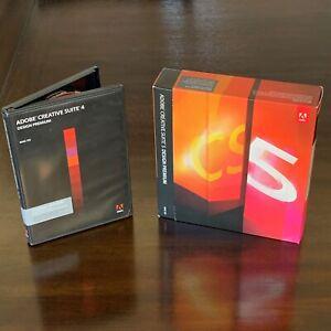 Adobe CS4 Design Premium Student Licensing + CS5 Upgrade Mac