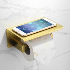 Stainless Steel Bath Hardware Brushed Gold Finish Tolilet Paper Roll Holder