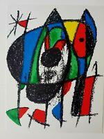 JOAN MIRÓ - ORIG. FARBLITHOGRAPHIE V - aus Lithograph II 1953 - 1963
