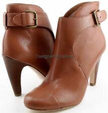 Botas de mujer marrones, Alto del tacón Alto (7,6-10 cm)