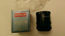 Vintage Sunagor Automatic Extension Tube 3 Ring Set  Boxed