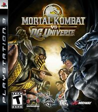 Mortal Kombat vs. DC Universe - Playstation 3 Game
