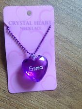 Heart Necklace Emma Prndant Christmas Stocking Filler