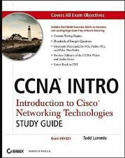 CCNA INTRO: Introduction to Cisco Networking Technologies Study Guide: Exam 640