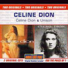 2CD Céline DIONCeline Dion + Unison, Two originals Australia only edition