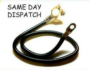 "24"" 61Cm Car Earth Strap Battery Lead Cable Negative Post Petrol Diesel Power"