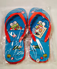 KEROPPI Flip Flops (LARGE) VACATION Hello Kitty Sanrio Loot Crate EXCLUSIVE