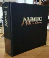 "Ultra Pro 3"" Hot Stamp Magic Album Raccoglitore Binder - Black MTG Magic"