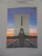 XL blue VIVE LA PARIS EIFFEL TOWER t-shirt by OLD NAVY