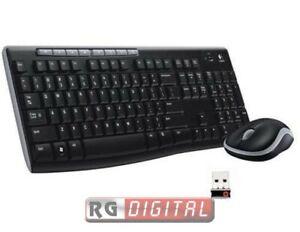 Logitech Wireless Combo MK270 Tastiera e Mouse - BLACK ITALIANA QWERTY
