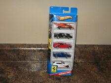 2013 Hot Wheels Ferrari 5 Car Multi Pack 330 P4 512M FXX FF 612 Scaglietti