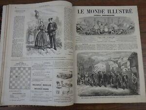 genre L'ILLUSTRATION : LE MONDE ILLUSTRE Année 1865
