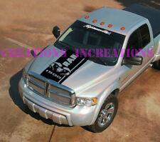 Vinyl Decal Fits Dodge Ram Rebel Hemi 1500 Truck 5.7l  Hood Stripe Unofficial